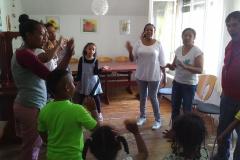 Samstagprobe mit Mütter und Kinder